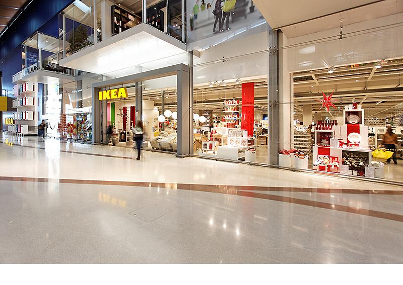 Uma Collective Architecture Alteração Da Frente Da Loja Ikea Em